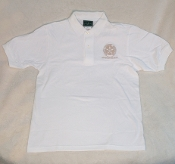 Golf Shirt- Short Sleeve- WHT
