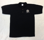 Golf Shirt- Short Sleeve- BLK